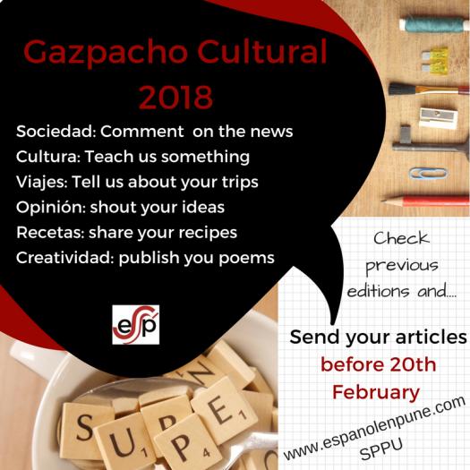 Gazpacho Cultural 2018