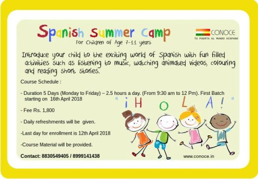 Spanish Summer camp